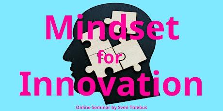 Mindset for Innovation tickets