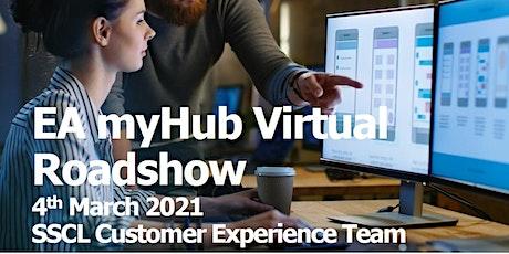 EA myHub virtual roadshow 4th March 2021 tickets