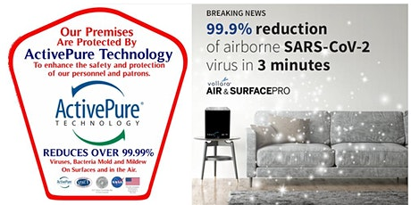 SPACE TECHNOLOGY AIR PURIFIER KILLS 99.9% OF COVID-19 & OTHER CONTAMINANTS tickets
