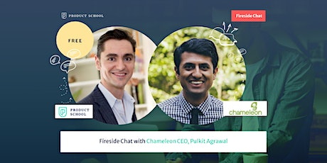 Fireside Chat with Chameleon CEO, Pulkit Agrawal tickets