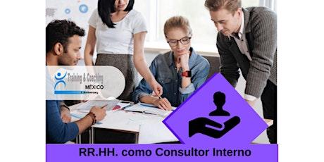 Webinar - RR.HH. como Consultor Interno entradas