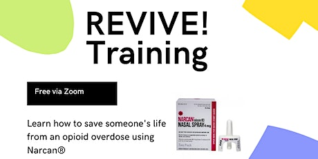 REVIVE! Training bilhetes
