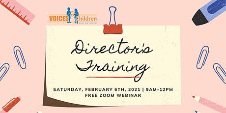 Early Care and Education Director's Training tickets