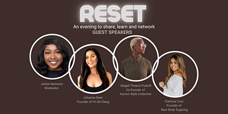 Reset: An evening to Share, Learn and Network tickets