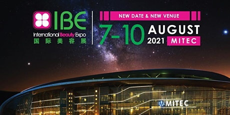 IBE International Beauty Expo 2021 tickets