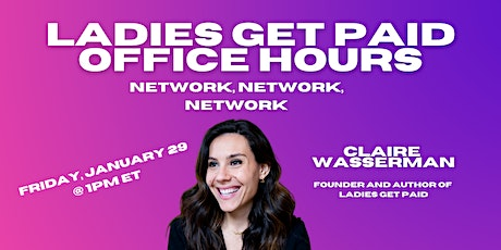 Office Hours: Network, Network, Network tickets