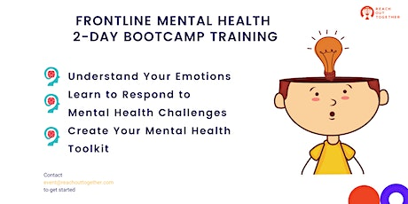 Frontline Mental Health Training tickets