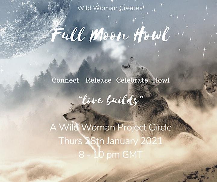 Wild Woman Full Moon Howl image