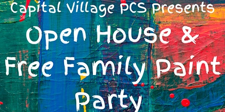 PAINT AND SIP OPEN HOUSE @ CAPITAL VILLAGE PCS tickets