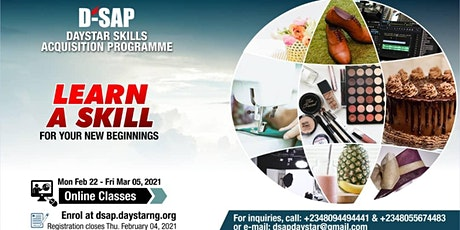 Daystar Skill Acquisition Program DSAP ONLINE EDITION tickets