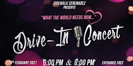Drive-in Concert (Presented by Sidewalk Serenadez) tickets