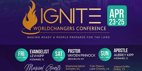 IGNITE World Changers Conference tickets