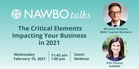 NAWBO Talks: The Critical Elements Impacting Your Business in 2021 tickets
