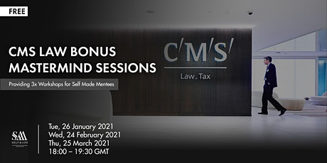 CMS Law Bonus Mastermind Sessions tickets