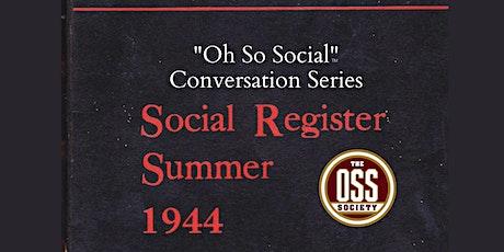 """Oh So Social"" Conversation: Author Erika Robuck & The Hon. Ellen McCarthy tickets"