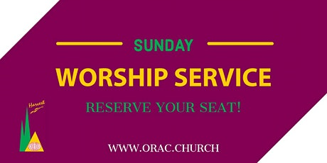 Sunday Worship Service - February 28th tickets