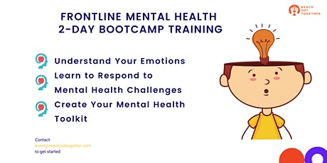 Frontline Mental Health Bootcamp Training tickets
