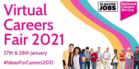 National Careers Service Virtual Careers Fair - Day 1 tickets