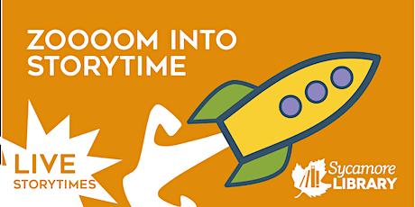 Zoooom Into Preschool Storytime tickets