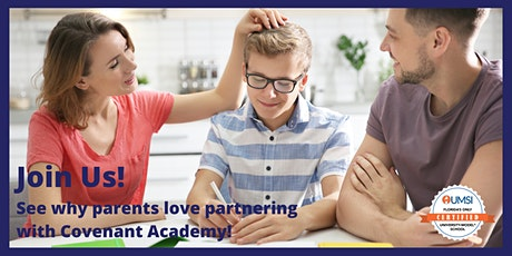 February 2021 Covenant Academy Open House tickets