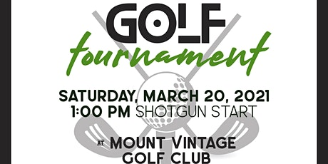 2021 Golf Tournament tickets