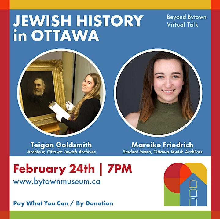 Beyond Bytown: Jewish History in Ottawa image