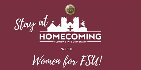Stay at Homecoming with W4FSU tickets