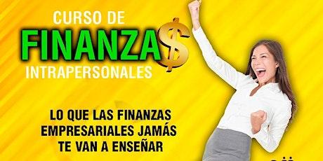 """""""FINANZAS INTRAPERSONALES •NIVEL II: PROGRAMANDO FINANZAS PROSPERAS"""" boletos"""