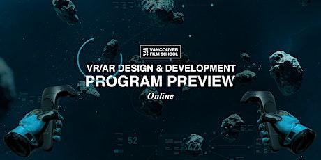 VFS VR/AR Design & Development Program Preview biglietti