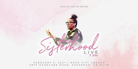 Sisterhood Live - 2/5/2021 tickets