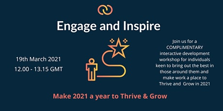Cultivating Connections : Engage & Inspire tickets