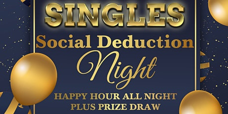 Singles Social Deduction Night tickets