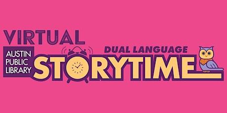 Virtual Dual Language Chinese Mandarin English Storytime tickets