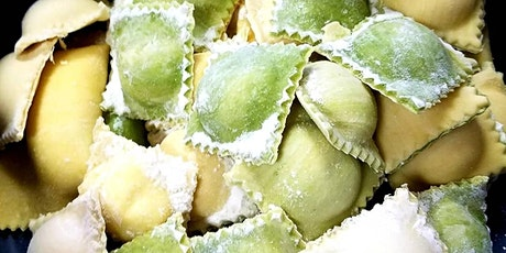 RAVIOLI Making Class - Sunday March 14th at 3pm (ONLINE) tickets