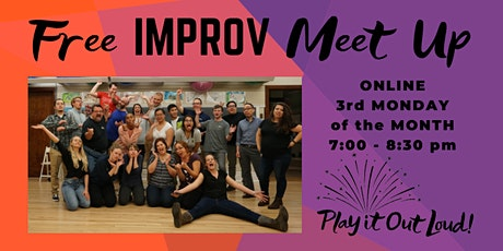 Online Improv Meet Up (free!) tickets