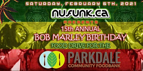 15th Annual Bob Marley Birthday Tribute tickets