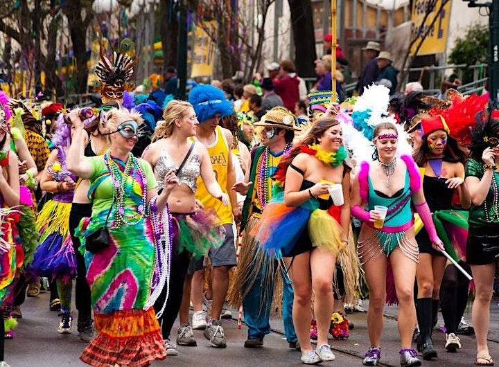 Mardi Gras Bar Crawl - Raleigh image