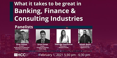 What it takes to be great in banking, finance & consulting industries tickets
