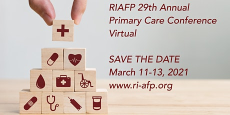 RIAFP 29th Annual Primary Care Conference tickets