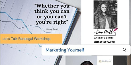 Let's Talk Paralegal Workshop - Marketing Yourself tickets