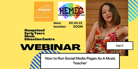 How To Run Social Media Pages As A Music Teacher tickets