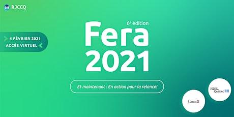 Forum économique de la relève d'affaires 2021 billets