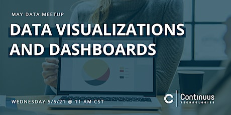 Data Meetup (May) - Data Visualizations and Dashboards tickets