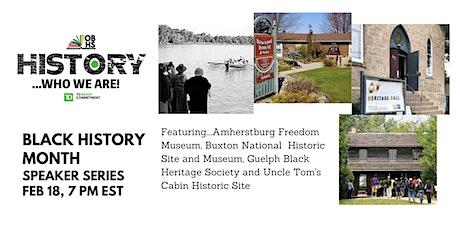 Part 2- OBHS Black History Month Speaker Series tickets