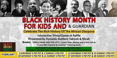 Black History Month For Kids tickets