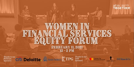 Women in Financial Services Equity Forum tickets