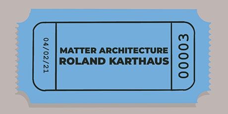 IED 2021 Industry Talks Presents: Matter Architecture tickets