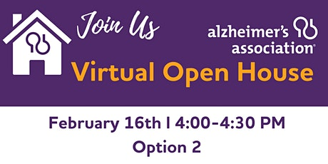 Virtual Open House (Afternoon Option) tickets