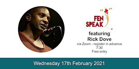 February 2021 Fen Speak open mic ft. Rick Dove tickets