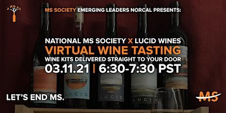National MS Society Virtual Wine Tasting tickets